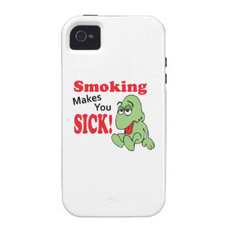 SMOKING MAKES YOU SICK VIBE iPhone 4 COVER