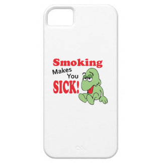 SMOKING MAKES YOU SICK iPhone 5 COVER