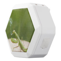 Smoking mantis white bluetooth speaker