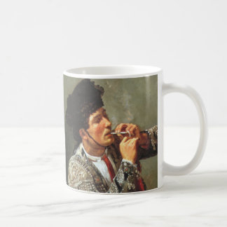 Smoking Matador Classic White Coffee Mug