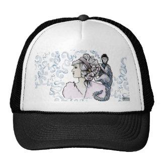 Smoking Monkey. Art Products Trucker Hat