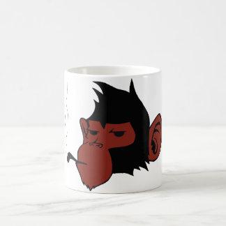 Smoking Monkey Coffee Mug