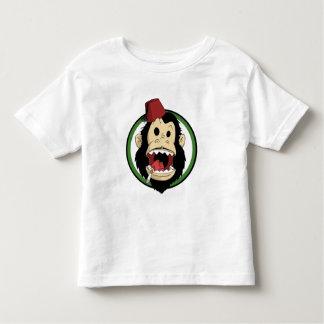 smoking monkey toddler t-shirt