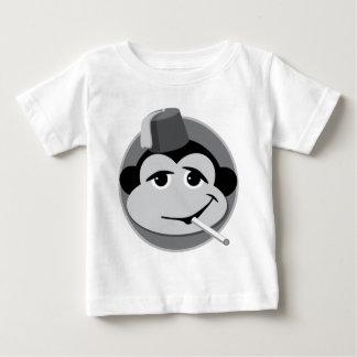 smoking monkey toddler tee! baby T-Shirt