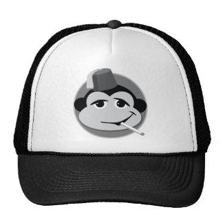 smoking monkey trucker hat