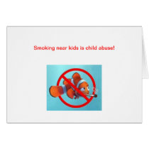 Smoking near kids is child abuse! gifts