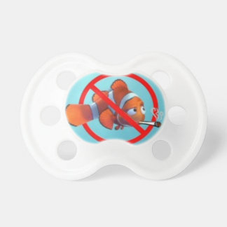 Smoking near kids is child abuse! gifts pacifier