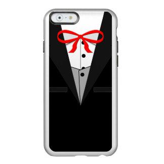 Smoking negro pasado de moda funda para iPhone 6 plus incipio feather shine