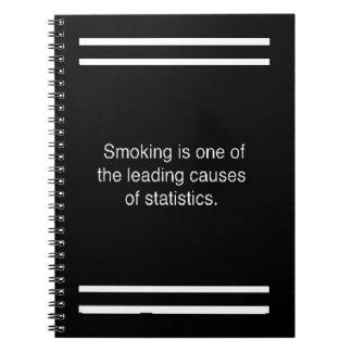smoking one notebook