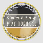 Smoking Pipe Tobacco Sticker