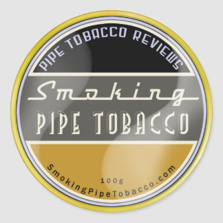 Smoking Pipe Tobacco Sticker