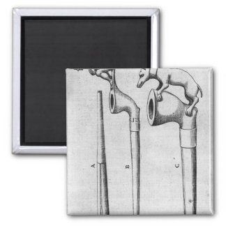 Smoking Pipes 2 Inch Square Magnet