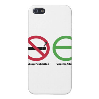 Smoking Prohibited. Vaping Allowed Cover For iPhone SE/5/5s