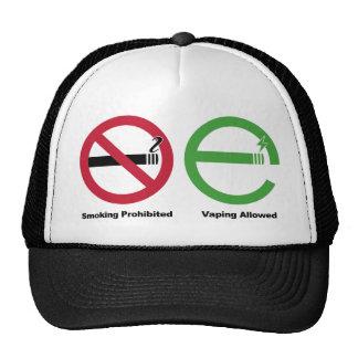 Smoking Prohibited Vaping Allowed Mesh Hat