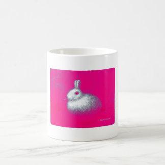 Smoking Rabbit Coffee Mug