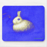 Smoking Rabbit Mouse Pad