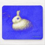 Smoking Rabbit Tapete De Ratones