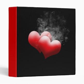 Smoking Red Hearts Binder