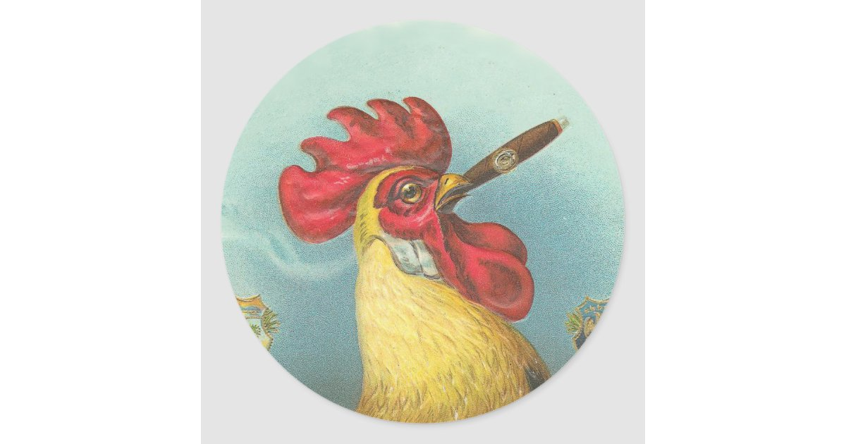 1611443716 CafePress Rustic Farm Country Rooster Sticker Sticker Oval