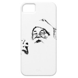 Smoking Santa. Vintage Santa Smoking A Cigarette. iPhone SE/5/5s Case