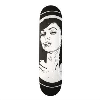 'Smoking' Skateboard