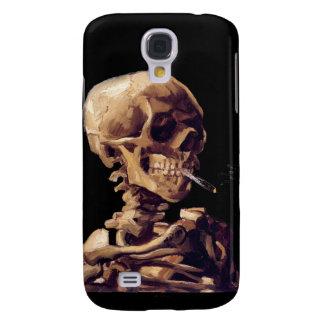 Smoking skeleton by Van Gogh HTC Vivid Case