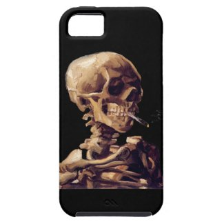 smoking skeleton iPhone 5 covers