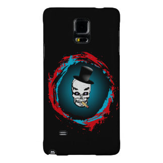 Smoking Skull with Tophat Galaxy Note 4 Case
