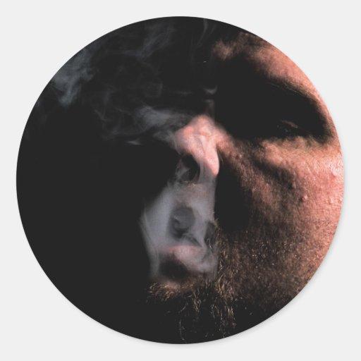 Smoking sticker