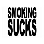 Smoking Sucks Postcard