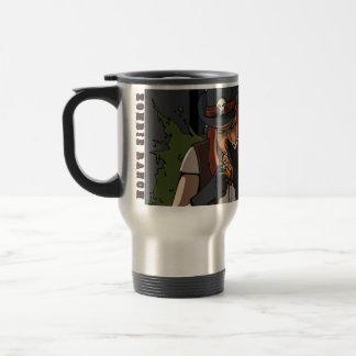 Smoking Suzie Travel Mug