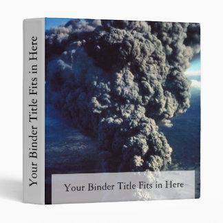 Smoking Volcano Vinyl Binder