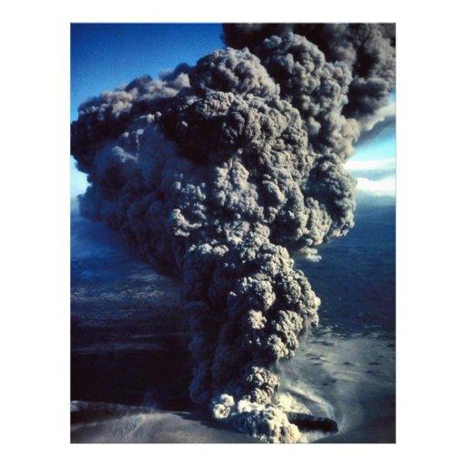 Smoking Volcano Flyer