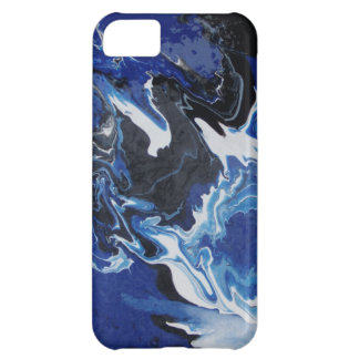 smoky blue iPhone 5C cover