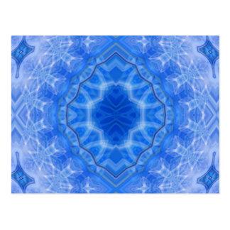 Smoky Blue Lace Postcard