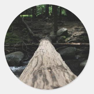Smoky Mountain Classic Round Sticker