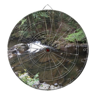 Smoky Mountain Creek Dartboard With Darts
