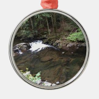 Smoky Mountain Creek Metal Ornament