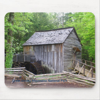 Smoky Mountain Grist Mill Mouse Pad