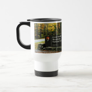 Smoky Mountain Nat'l Park Autumn Sign Traveler Cup