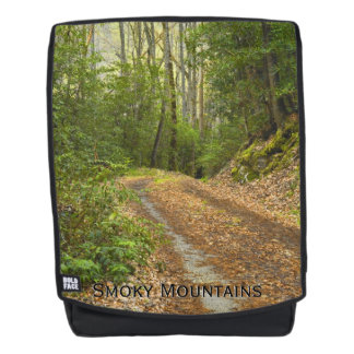 Smoky Mountain Photography / Winding Dirt Road Backpack