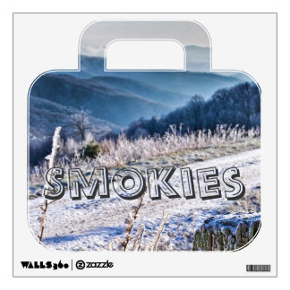 Smoky Mountain - Purchase Knob Winter Scenic View Wall Sticker