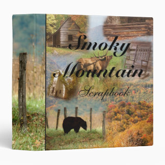 Smoky Mountain Scrapbook Binder