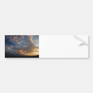 Smoky Mountain Sunset Car Bumper Sticker