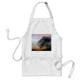 Smoky Mountain Sunset from the Blue Ridge Parkway Adult Apron