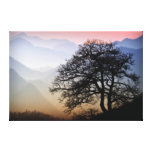 Smoky Mountain Sunset from the Blue Ridge Parkway Canvas Print