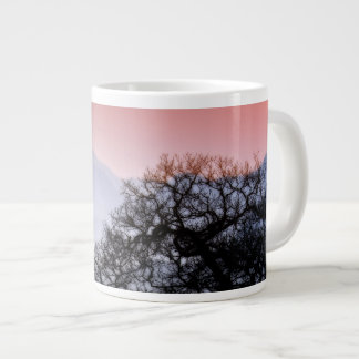 Smoky Mountain Sunset from the Blue Ridge Parkway Large Coffee Mug