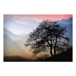 Smoky Mountain Sunset from the Blue Ridge Parkway Photo Print