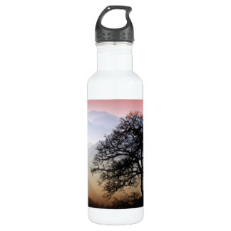 Smoky Mountain Sunset from the Blue Ridge Parkway Water Bottle