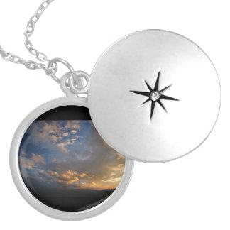 Smoky Mountain Sunset Custom Necklace